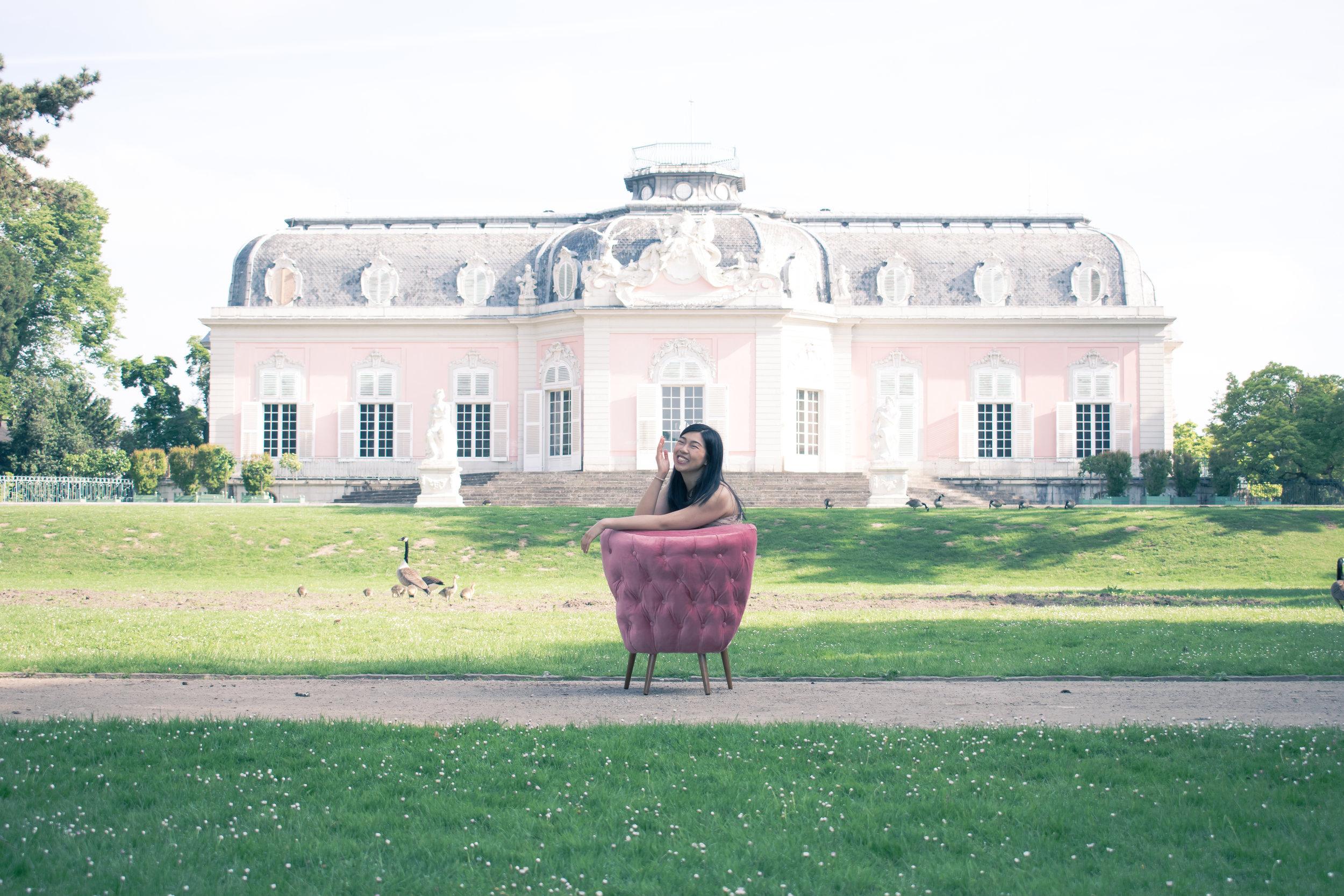 Benrath Schloss, Dusseldorf