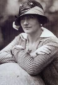 Coco Chanel in Houndstooth on May 30th 1929