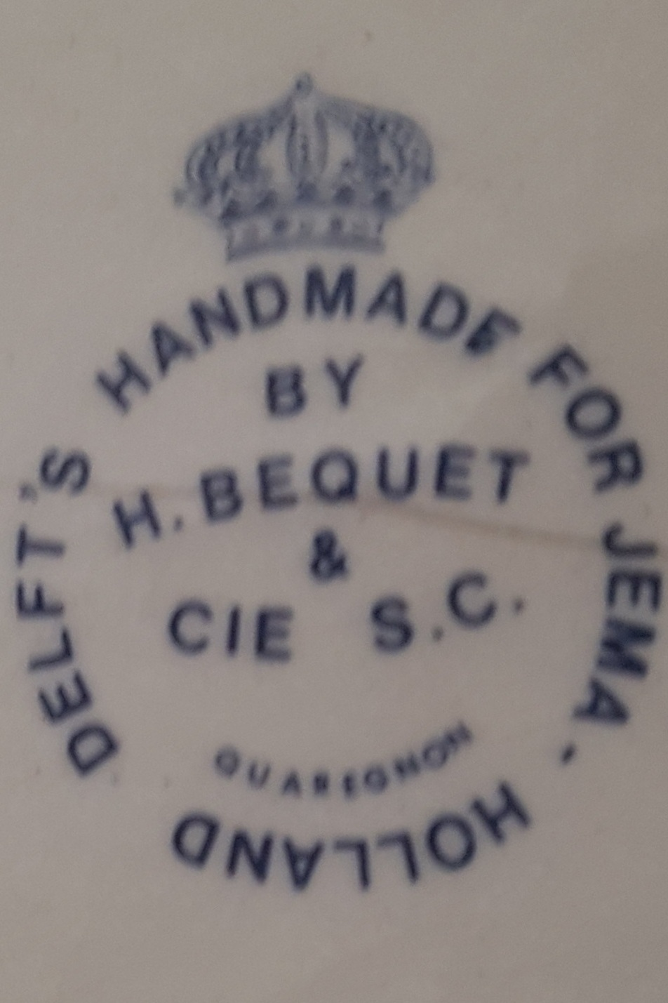 Stamp+of+H+Bequet+for+jema+Holland