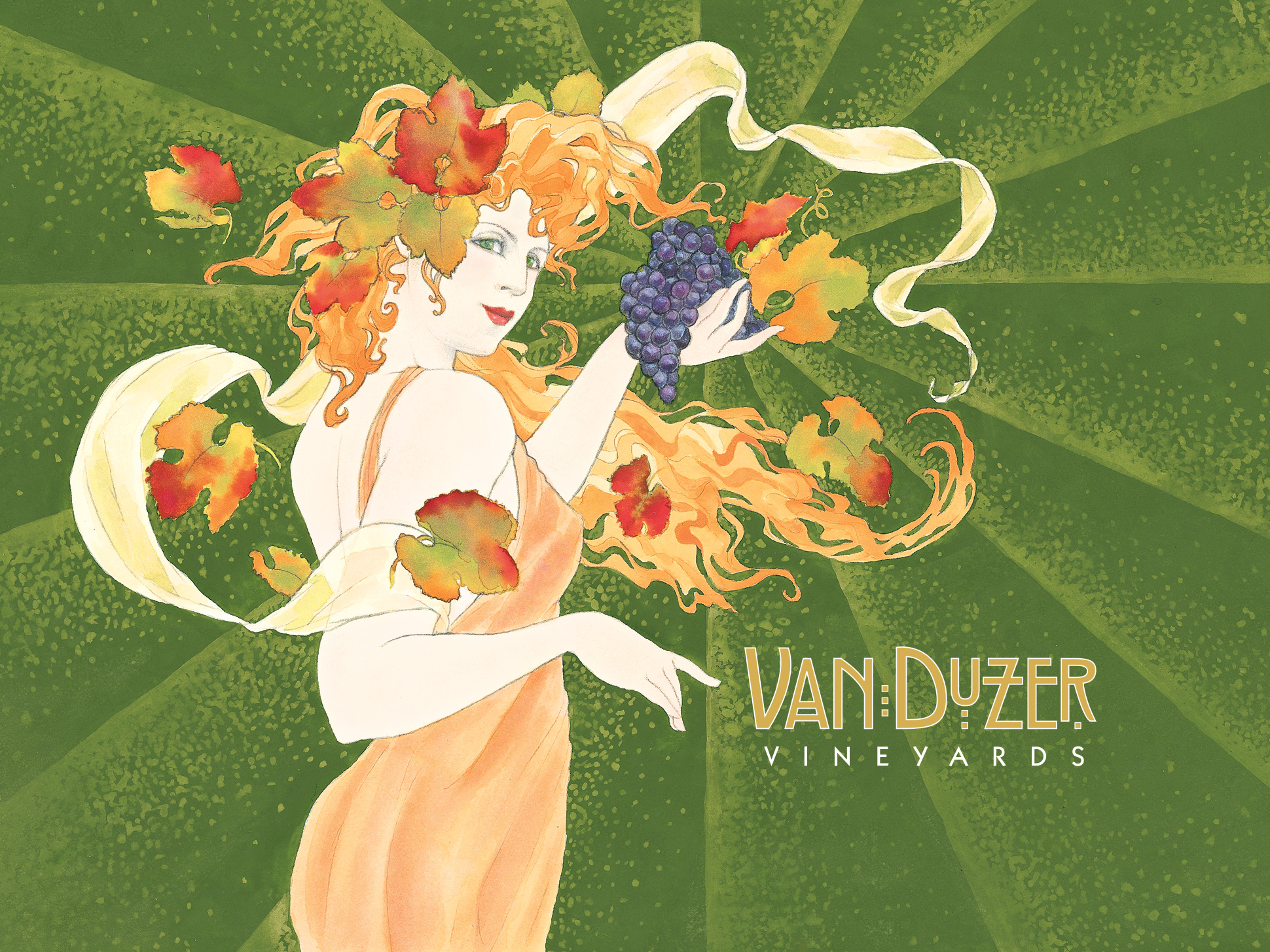 Van Duzer's Zephyra, Goddess of the West Wind
