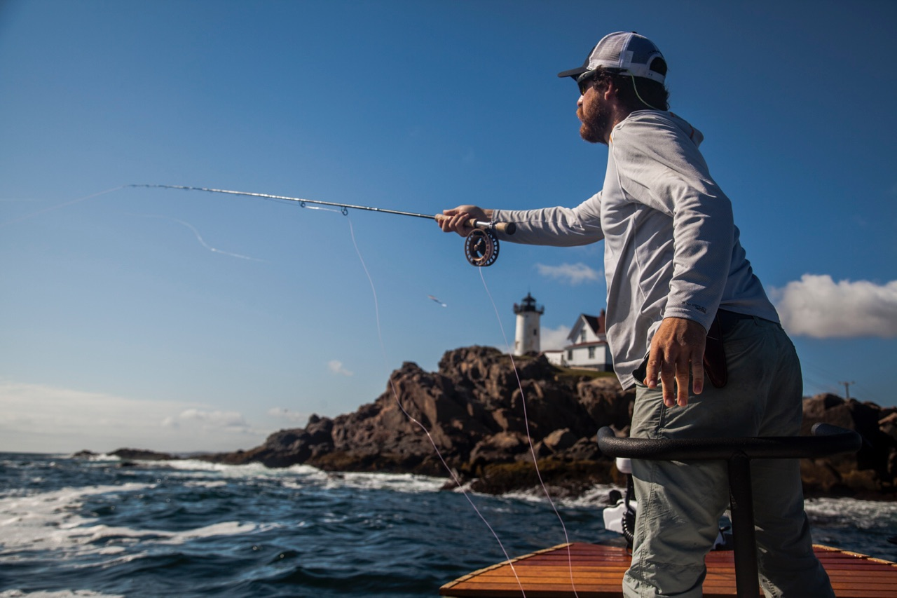 As the flats slow toward the end of August, casting flies to the coast has defined September & October for Soul Fly Outfitters. Photo Cred:  Vedo
