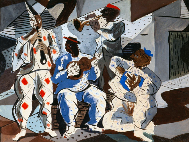Cândido Portinari -  Quarteto de Músicos , 1942