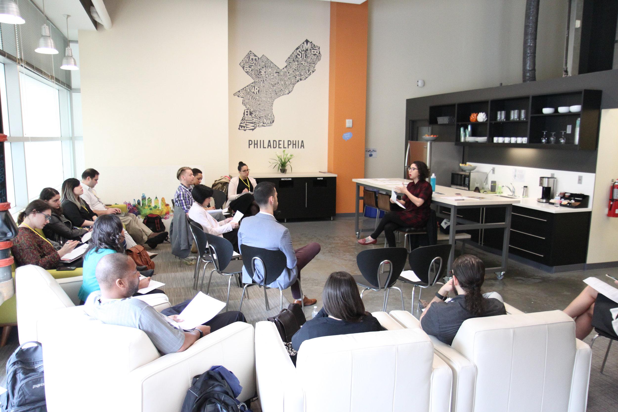 Masterclass Facilitator, Digital Project Management at The Millennial Leadership Summit Philadelphia