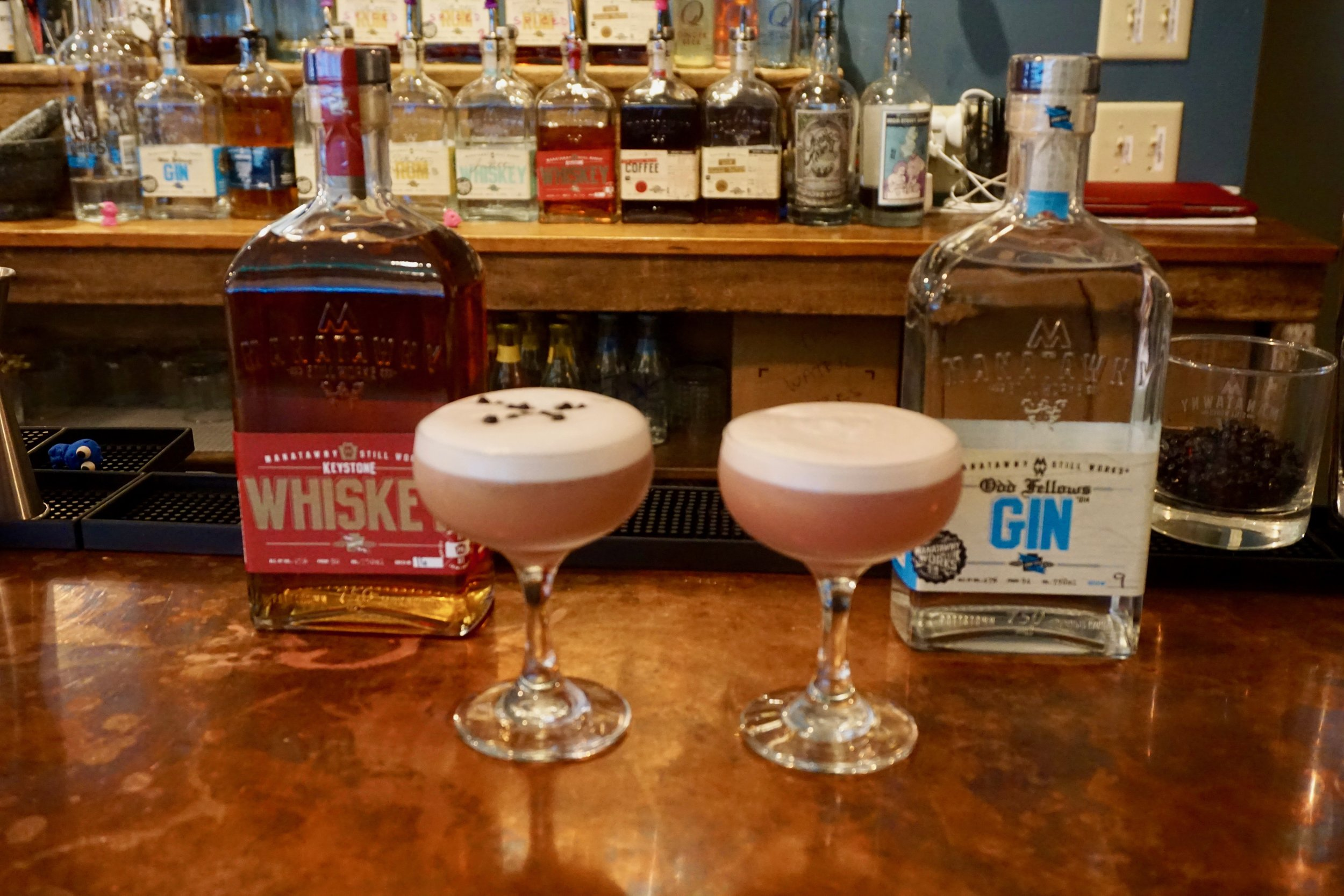 On the left: the MSW version | On the right: the classic Clover Club