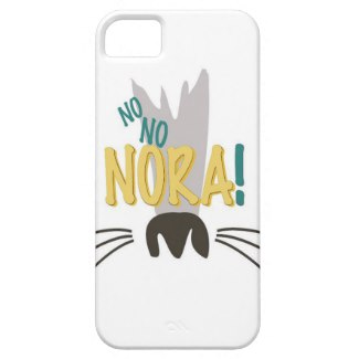 Nora's Nose Phone Case  - Nora uses her wee brown Siamese nose to sniff out mischief.