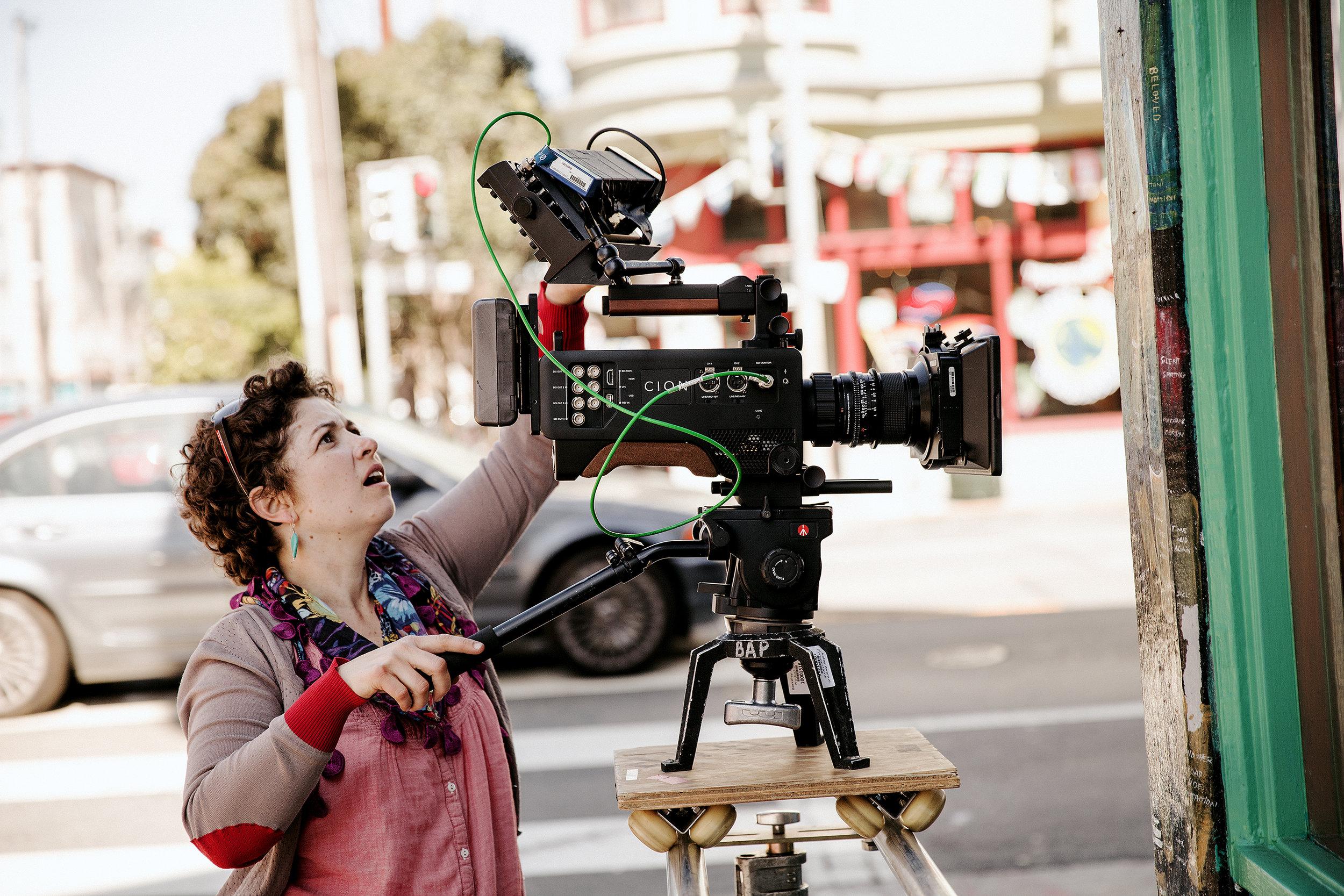 Catalina Ausin - ProducerCinematographerCamera Operator