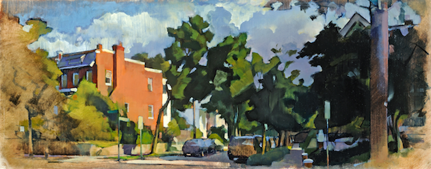 Huidekoper Place 2  (730), 2013, private collection