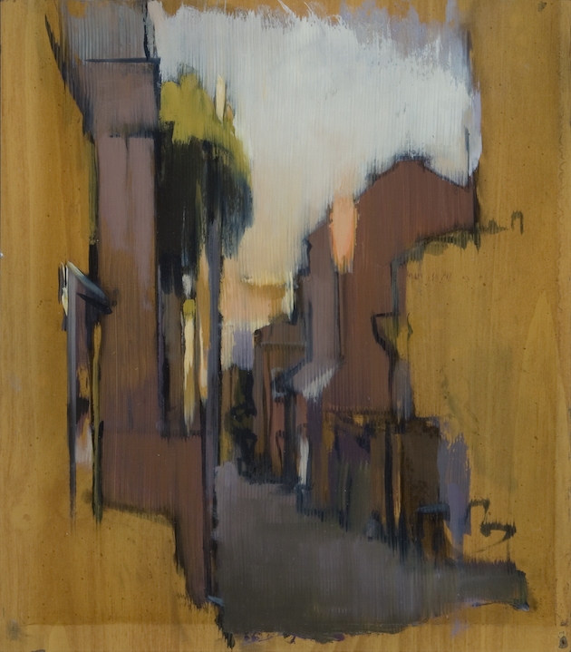 Bancroft Alley, Dusk (710), 2009