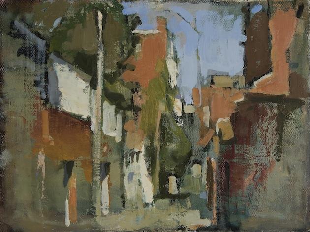 Bancroft Alley (Noon) 1  (721), 2009