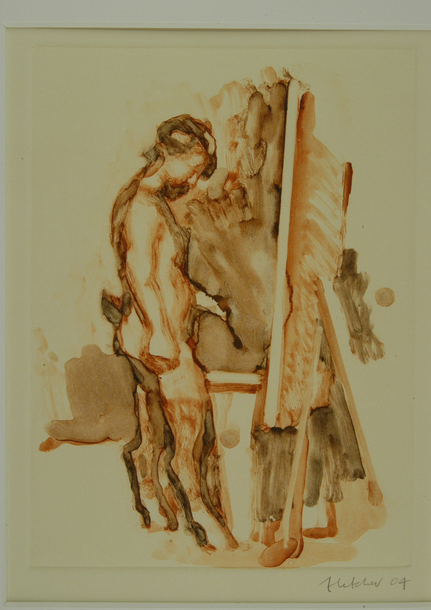 Satyr at the Easel