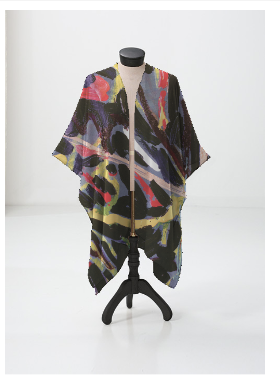 """Danzi"" Sheer Silk Wrap"
