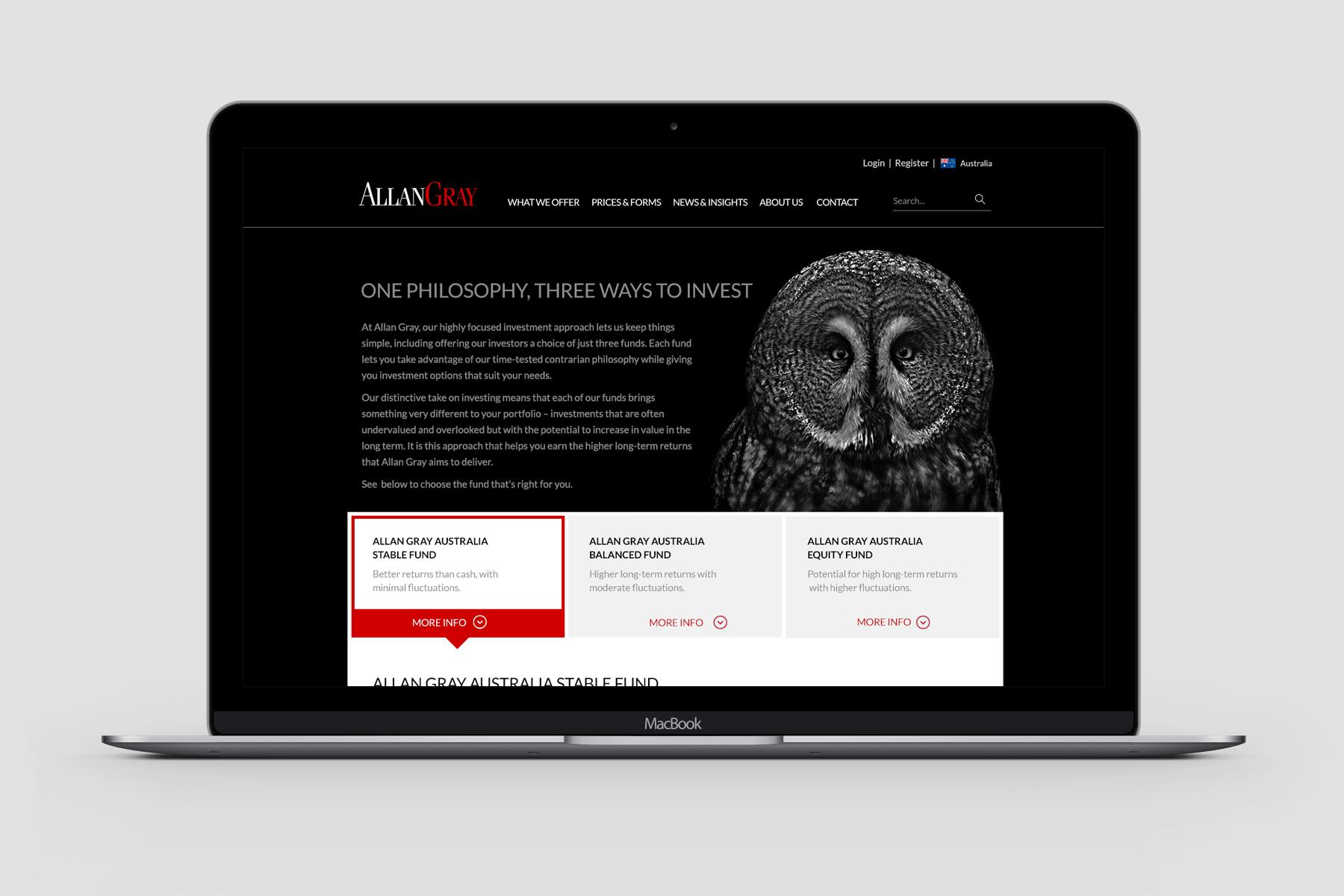 Website  allangray.com.au