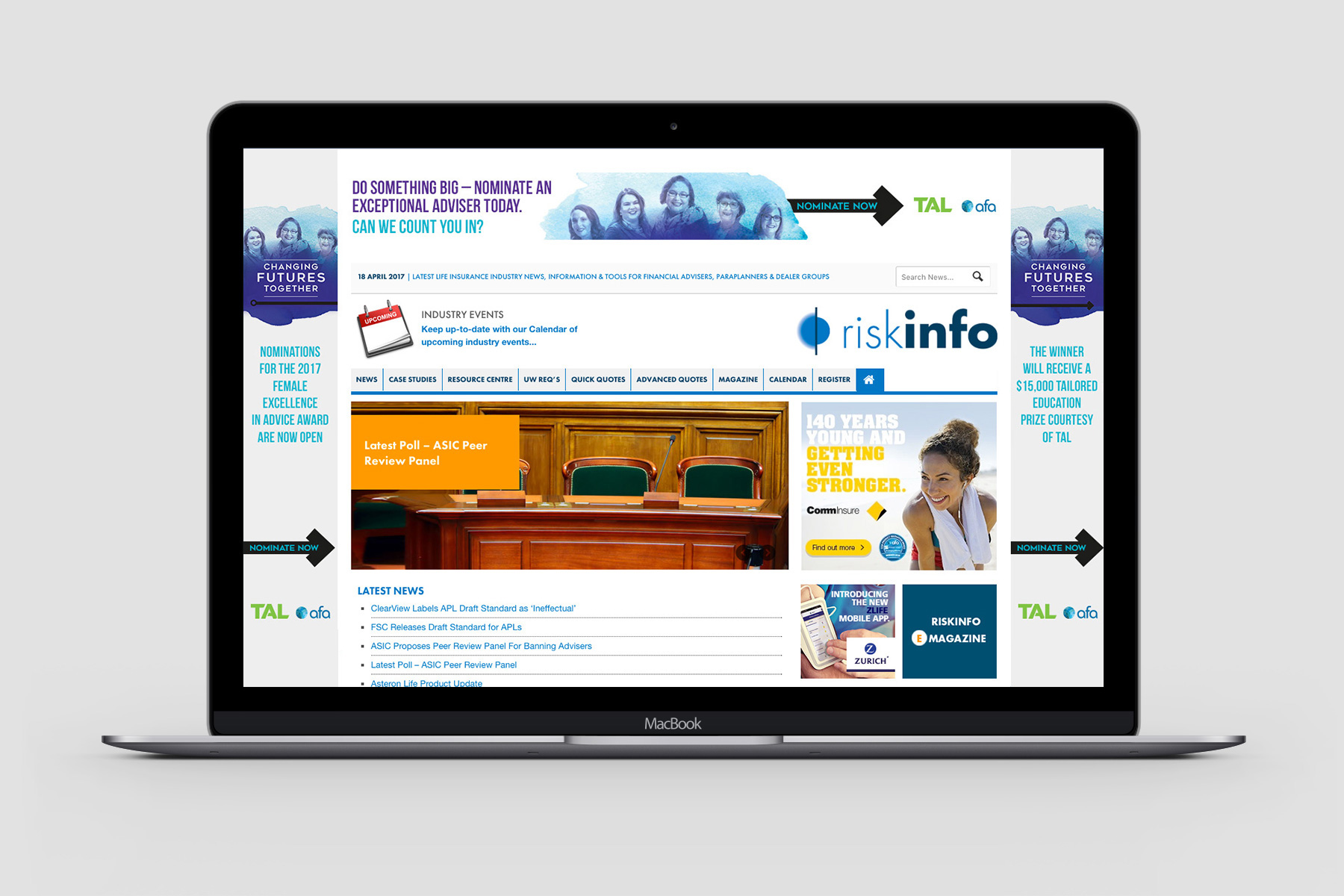 Homepage takeover - online advertising