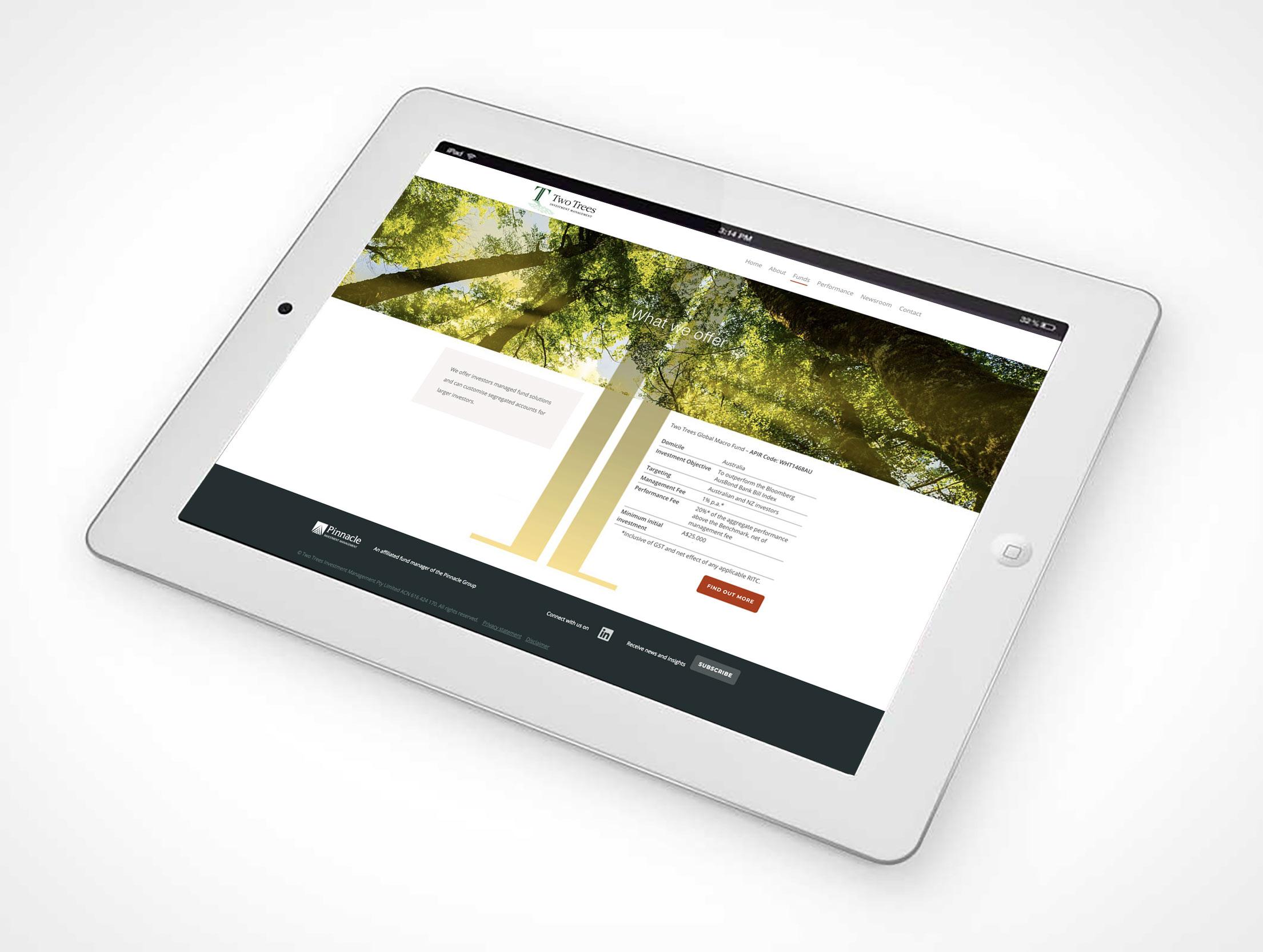 Website Tablet