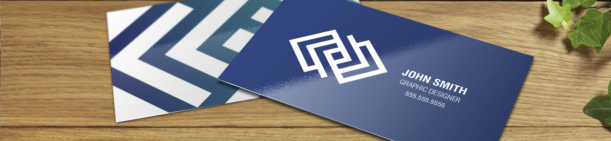 Business cards by DH Media