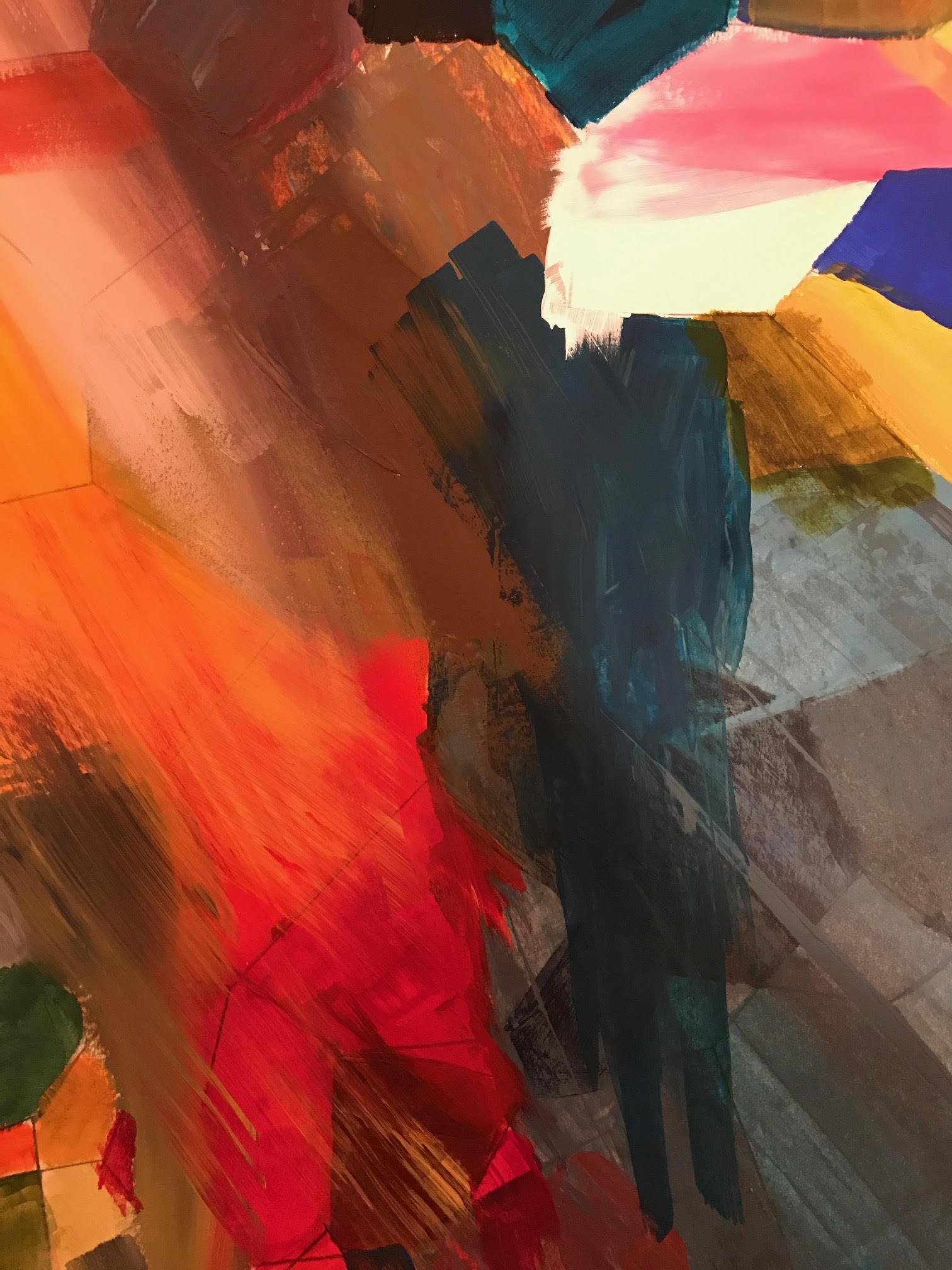 Untitled No 1 - Acrylic