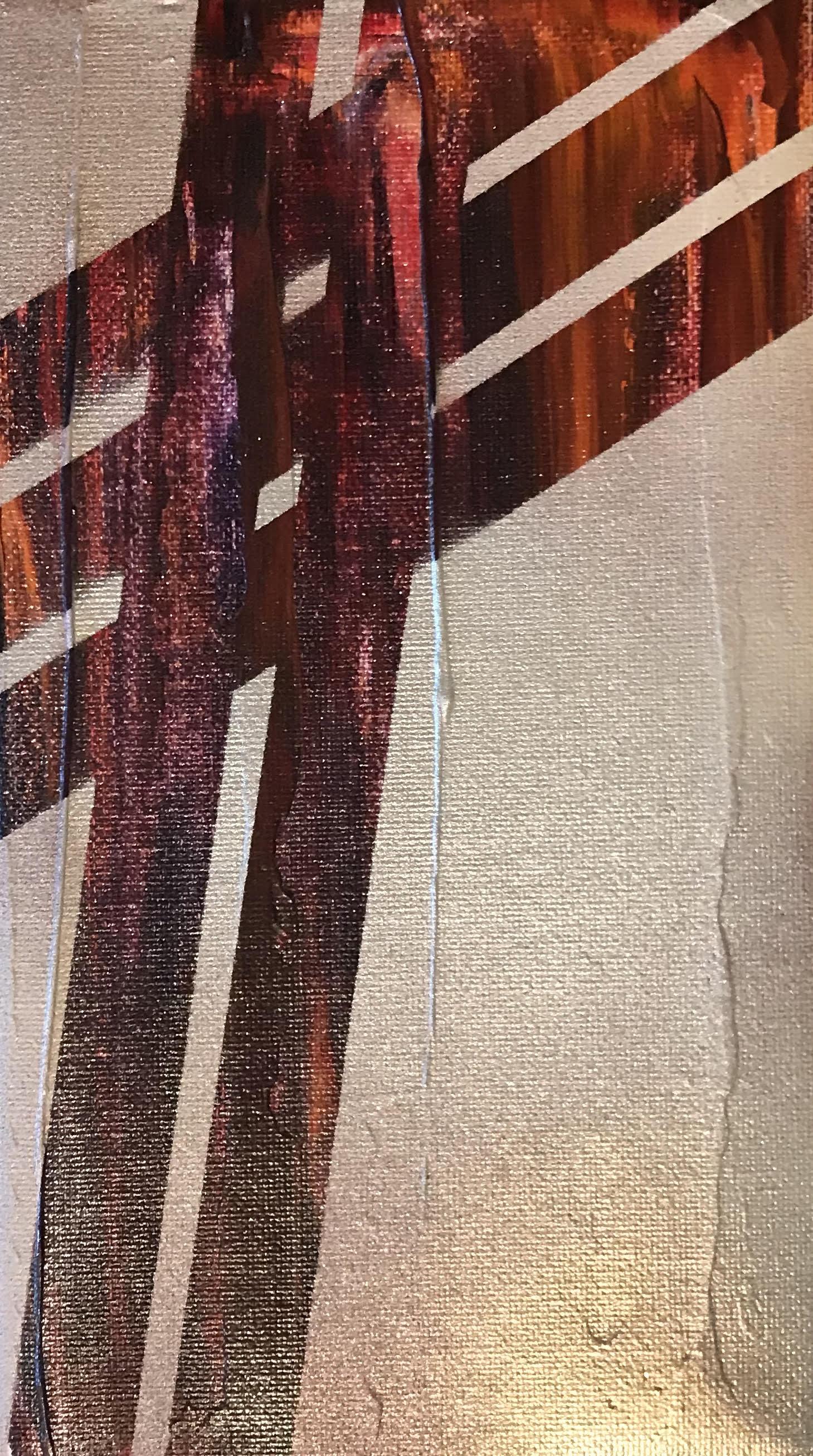 Cranes for DaysNo 1 - Spray Paint/Acrylic