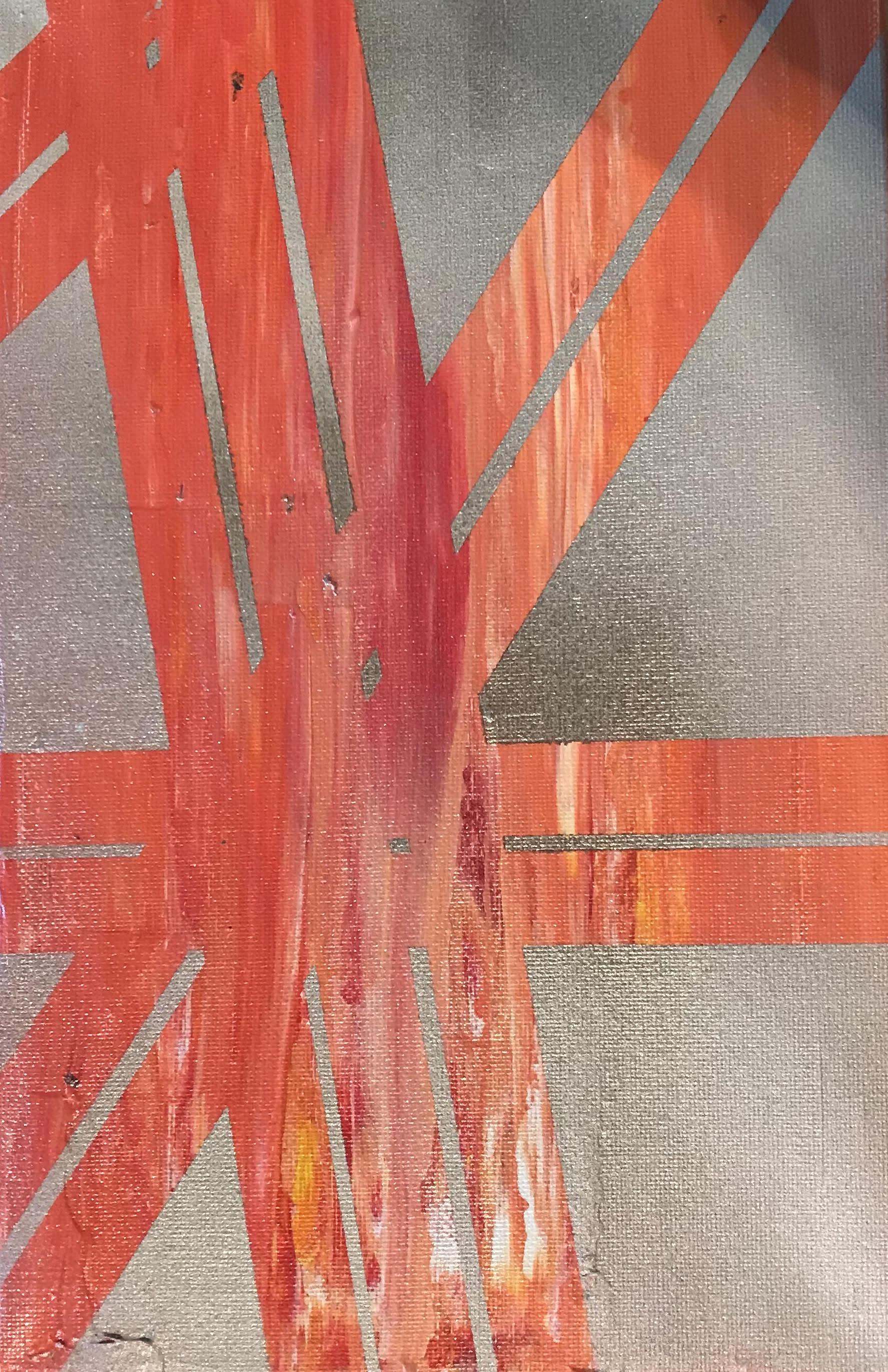 Cranes for DaysNo 2 - Spray Paint/Acrylic