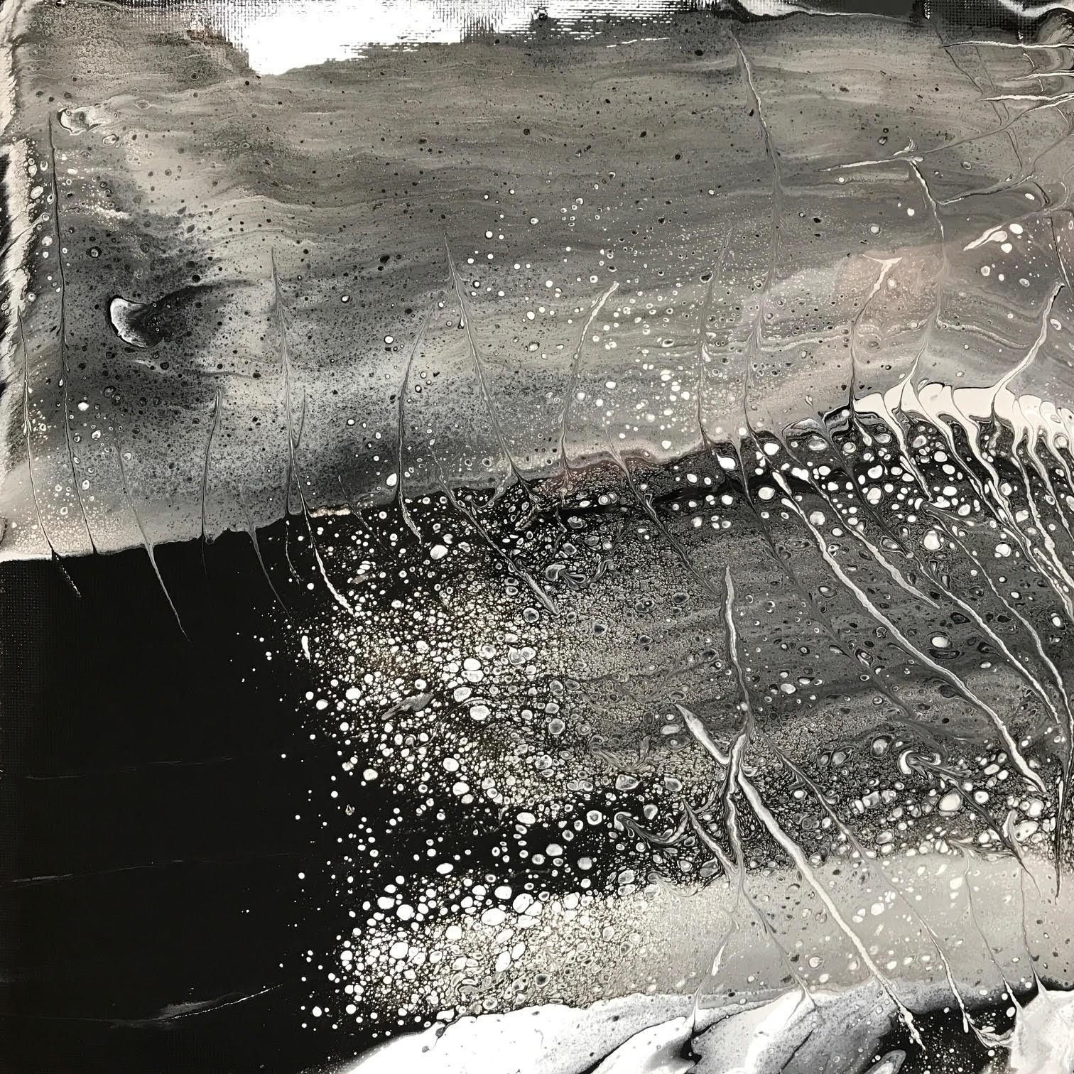 Dark Horizon - Acrylic/Pouring Medium