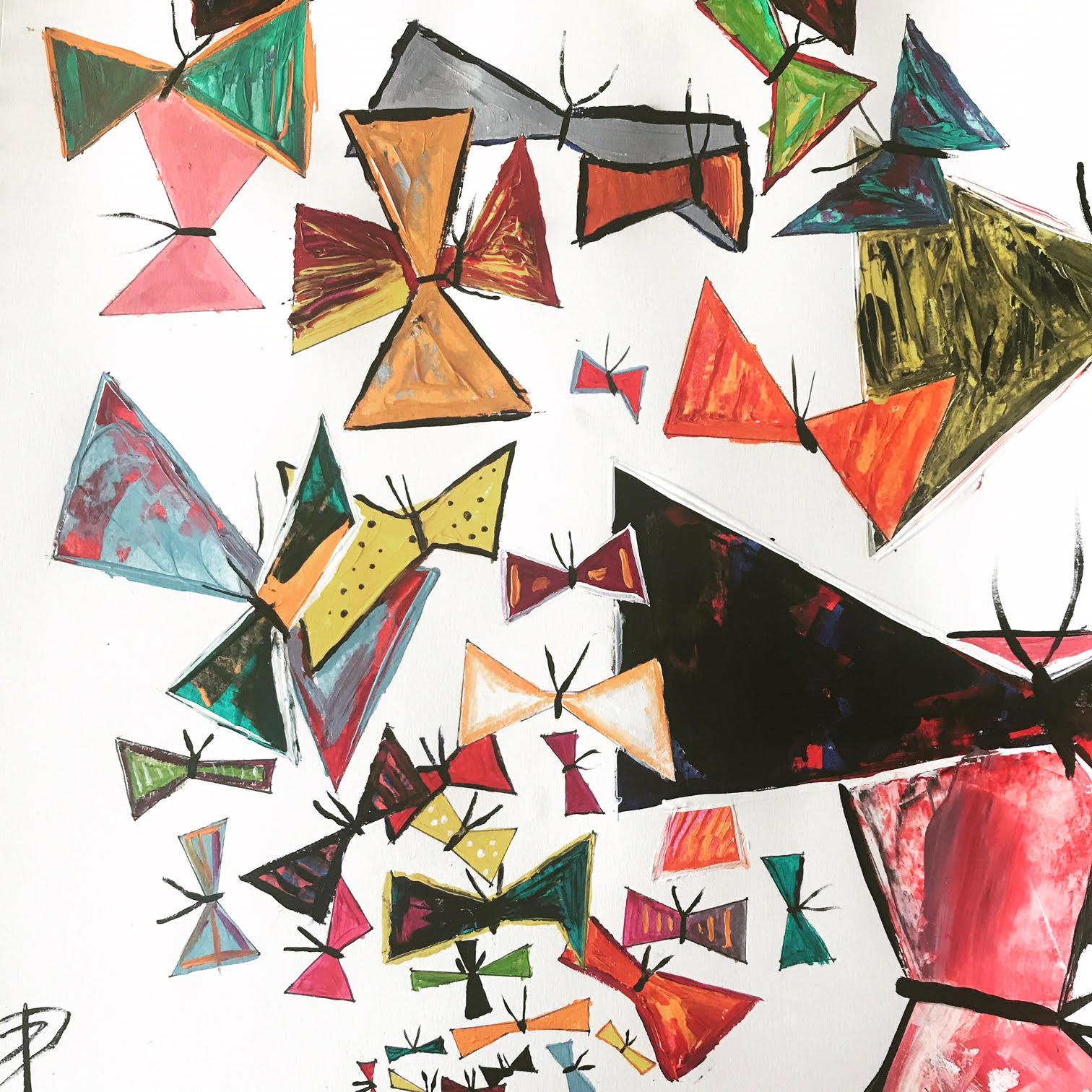 Butterflies - Acrylic