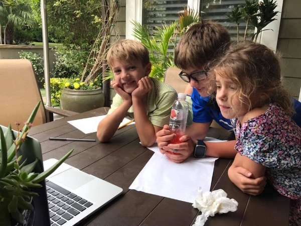 Trish Uses a combination of online Learning CURRICULUM's and Hands On Activities To Homeschool