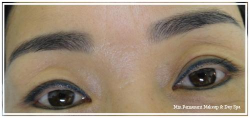powdered eyebrow 1