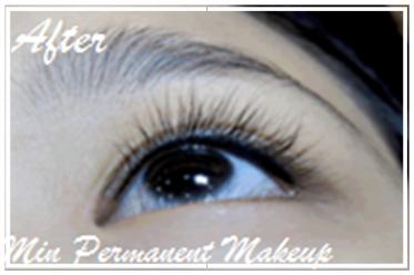tightlining eyeliner after