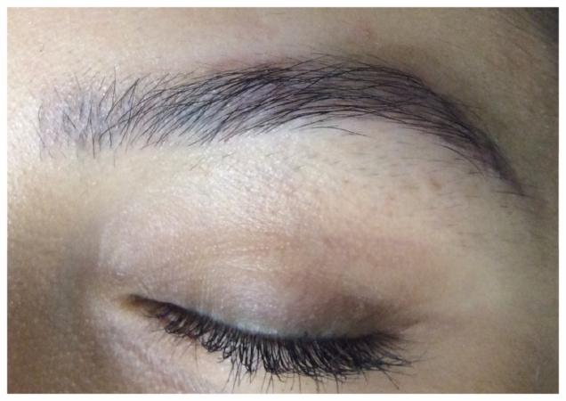 powdered eyebrow main page