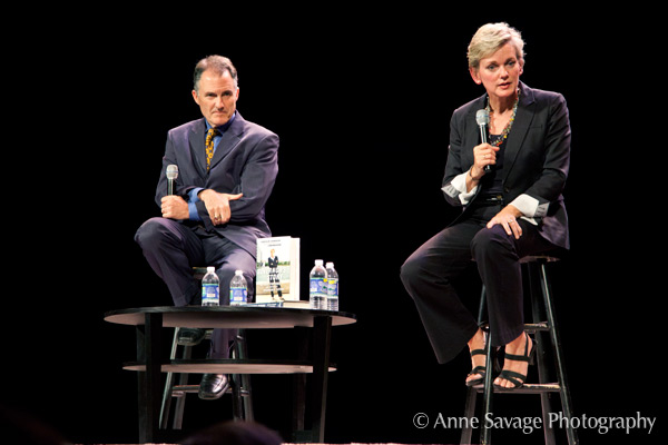 Speaking - Whether it's a keynote speech in a grand ballroom or addressing a table of executives, Granholm and Mulhern invigorate audiences with fitting narratives about leadership, defining success and the power of change.