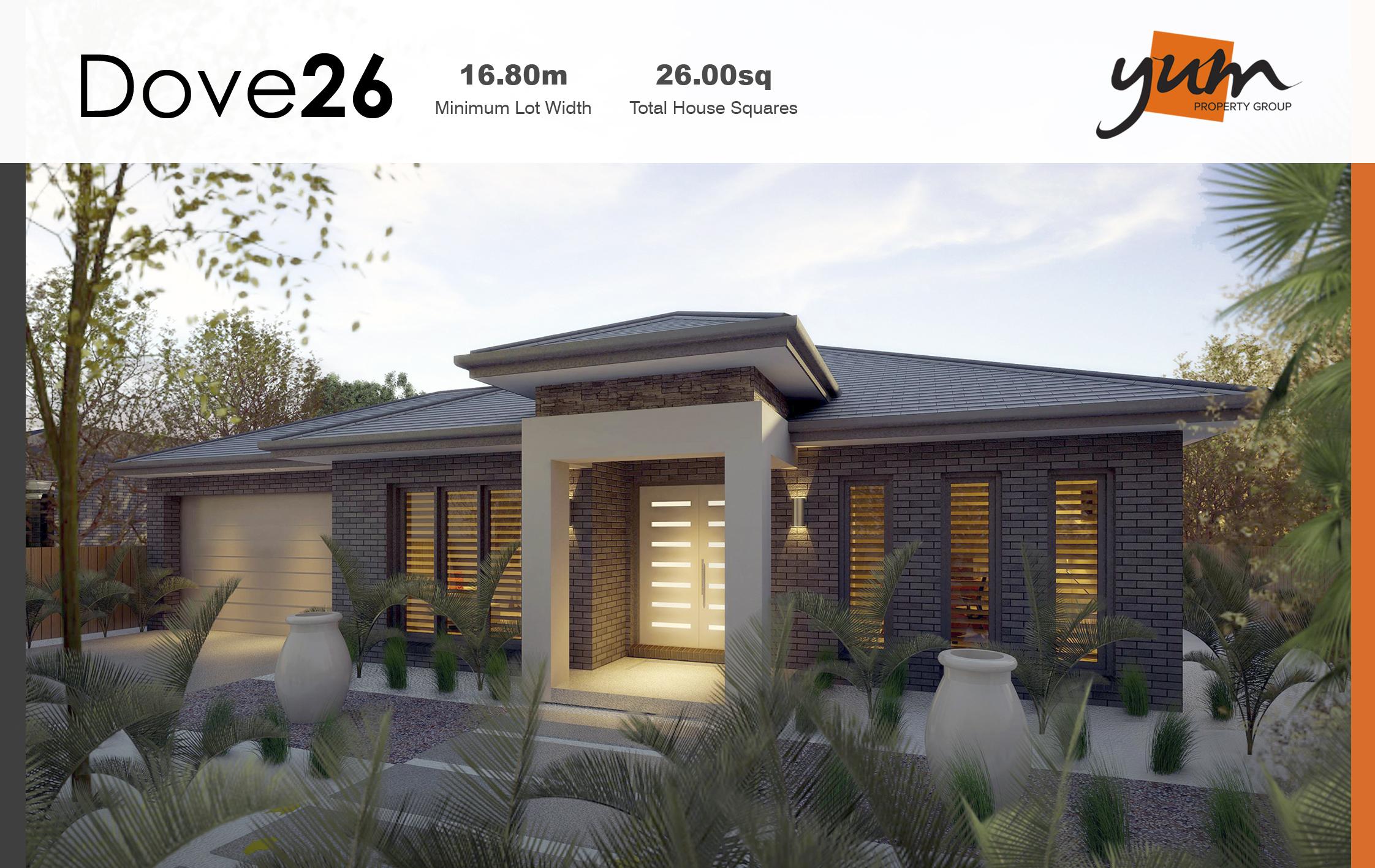 Dove Facade by  Yum Homes