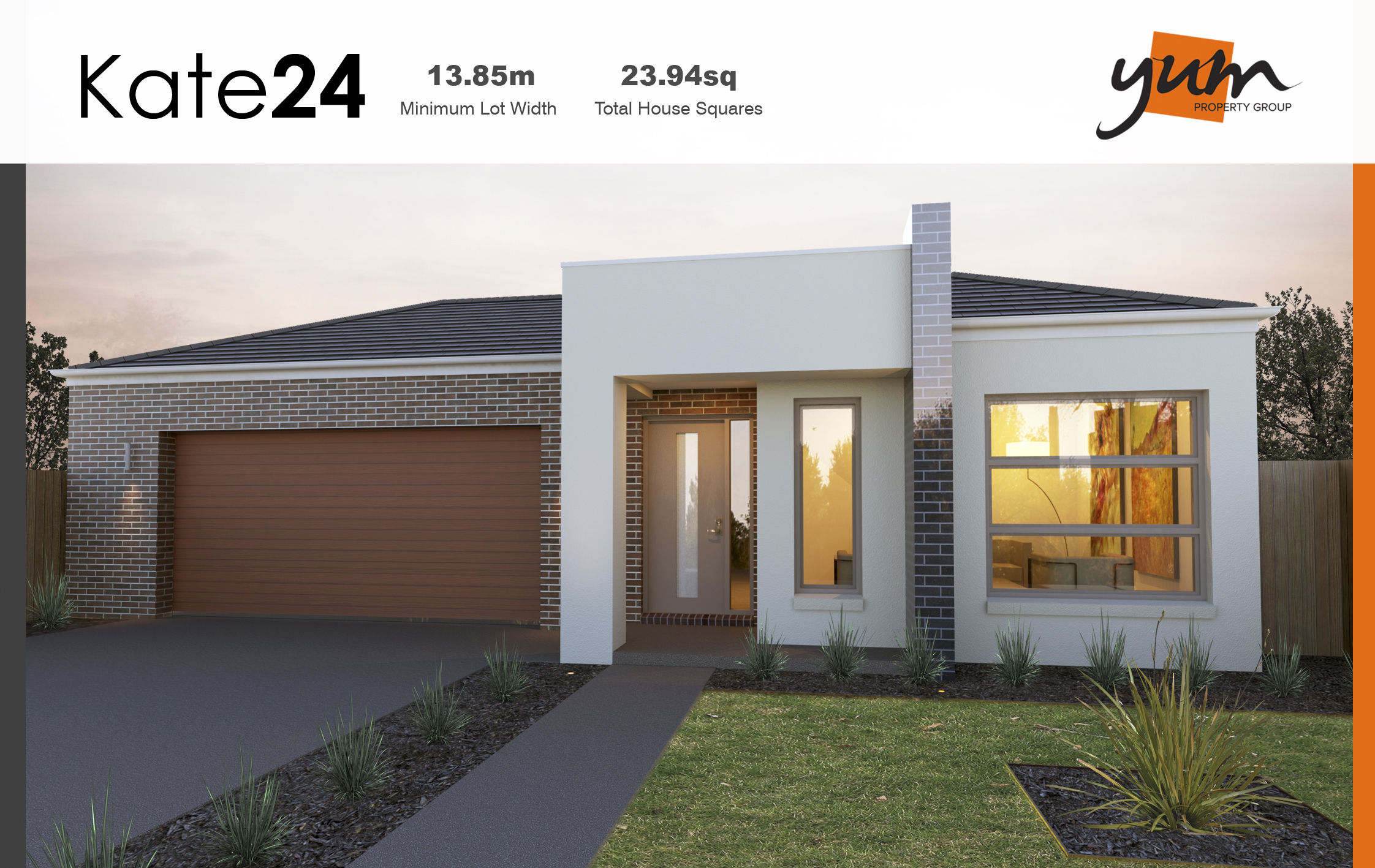Kate Facade by  Yum Homes