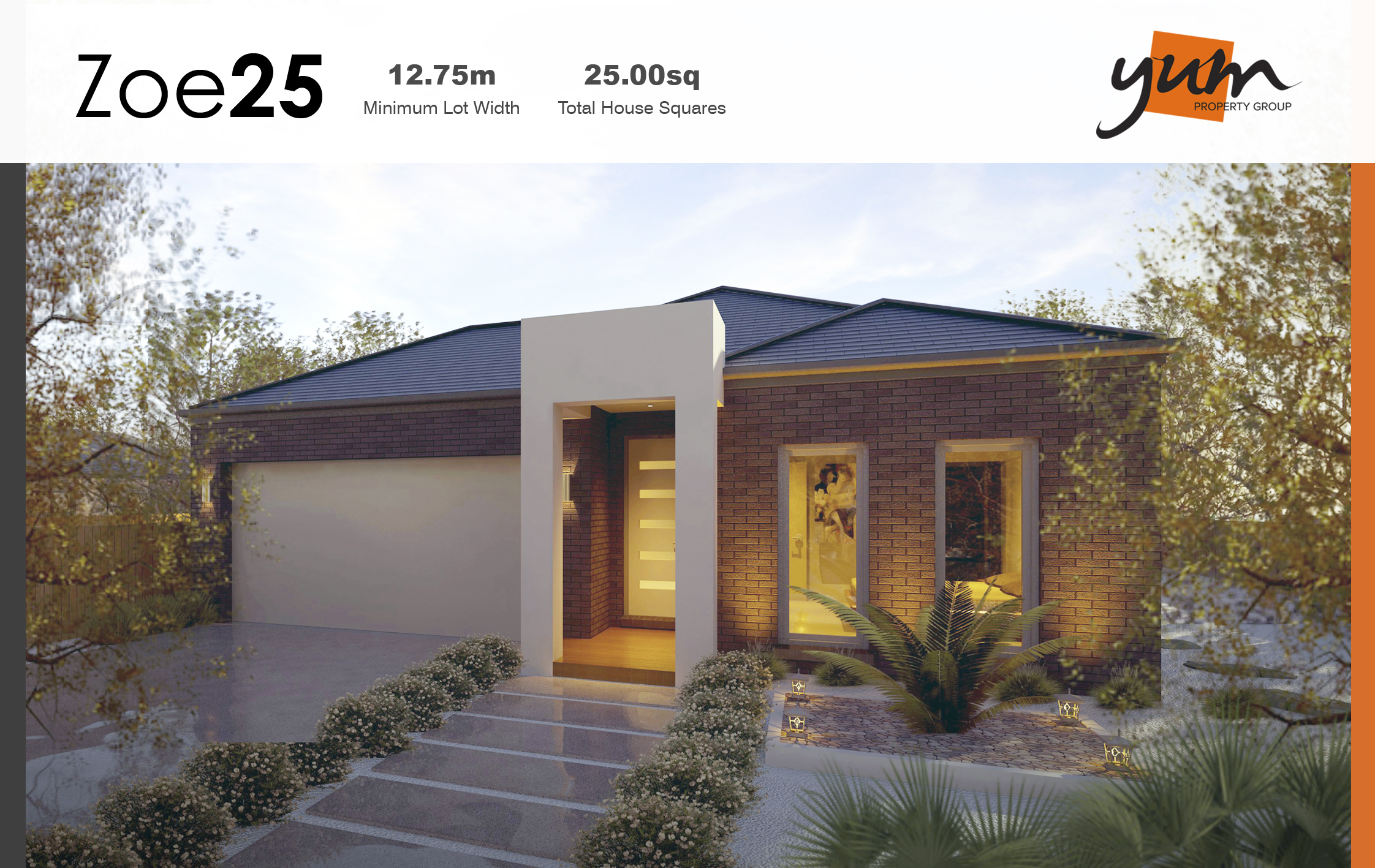 Zoe Facade by Yum Homes