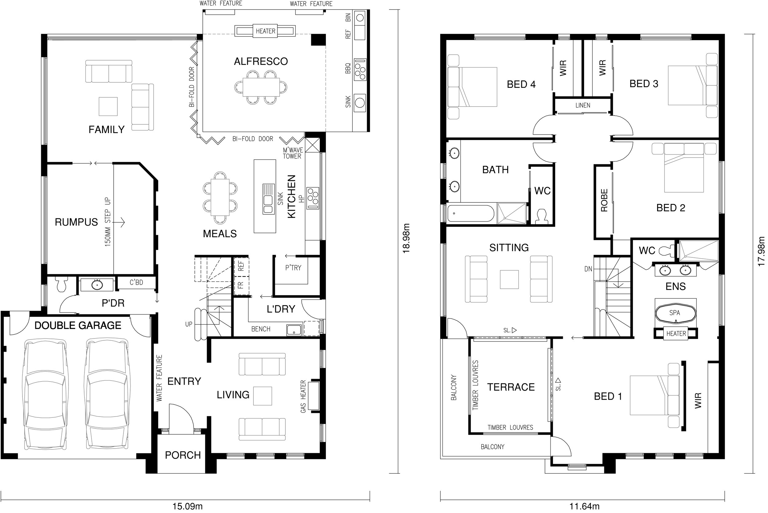 Venice Floor Plan by  Yum Homes