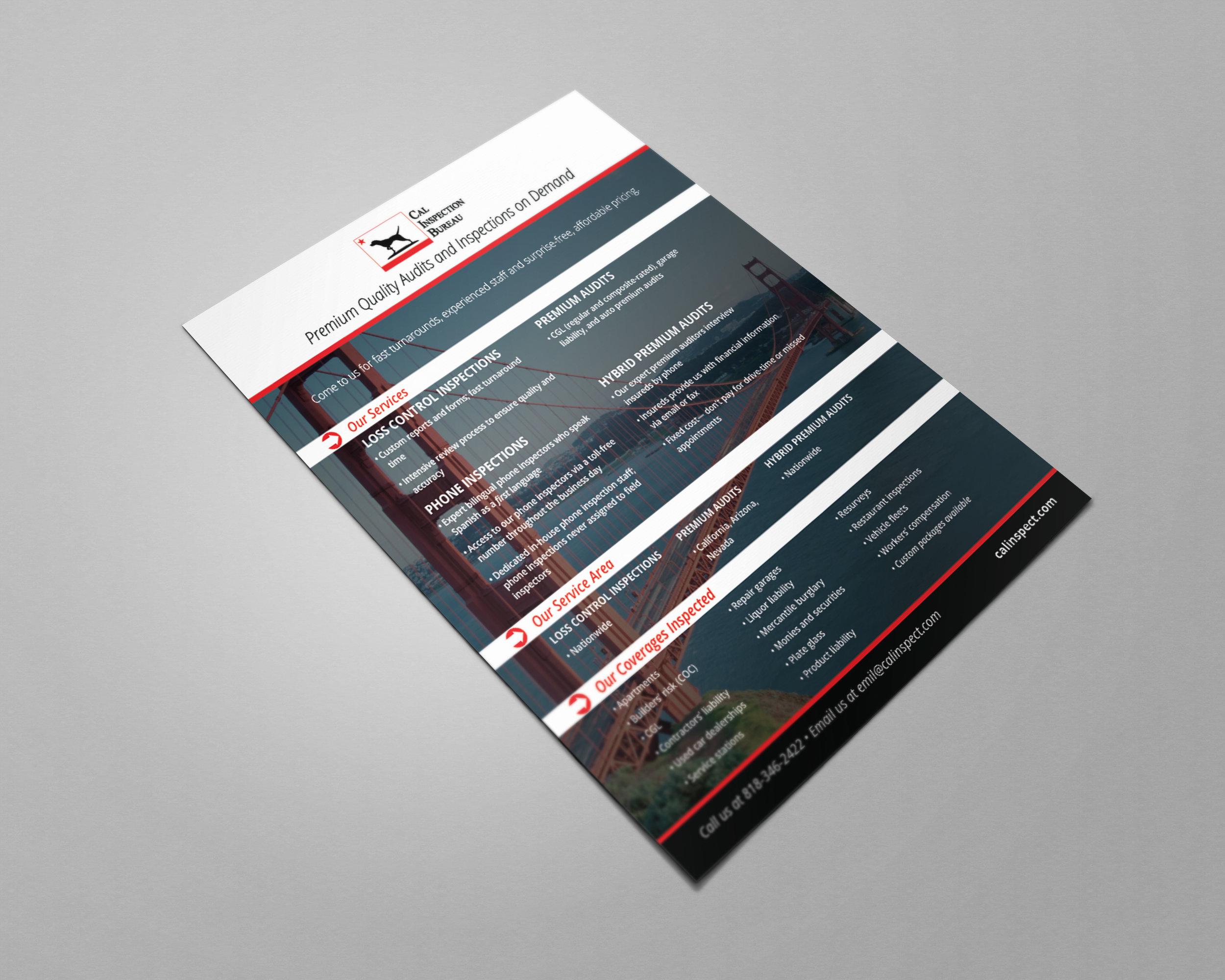 Cal Inspection Flyer