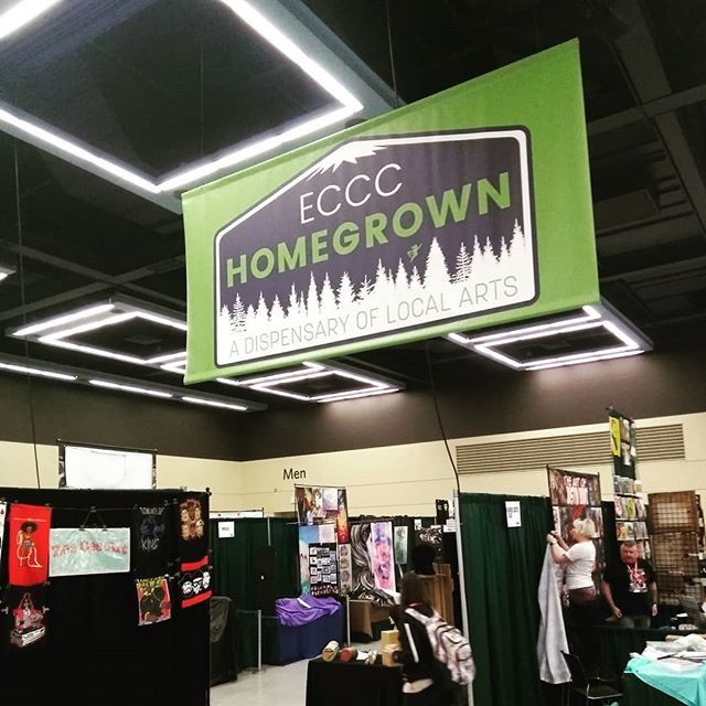 Looks like I'll be hanging out at #emeraldcitycomicon this year in the homegrown section, helping out another talented local @kamakruart with her booth. Come say hi at HG211! I'm the tall artboy with the long blond hair. (I do not yet have my own booth, just helping out another) #seattleart #seattleartist #eccc2018 #eccc #art #artistsoninstagram #comiccon #seattleart #artist  You can finally grab me by the cuff of my shirt and demand why I haven't updated in so long.