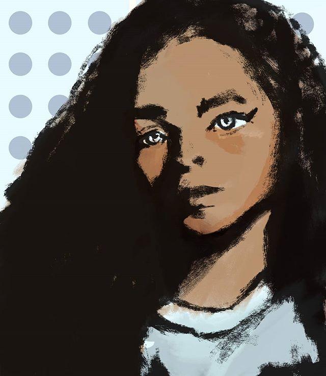 Style.  #sketch #art #illustration #illustratorsoninstagram #design #style #portraitpainting #portrait #drawing #girl