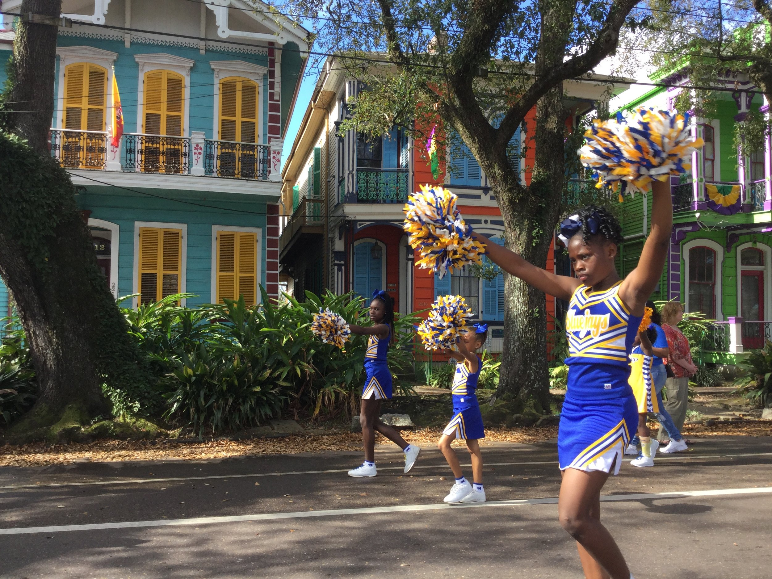 Every day is a parade on Esplanade Avenue in New Orleans