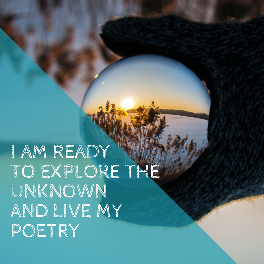 Live the mystery - Are you ready to explore and express the mystery of being you?