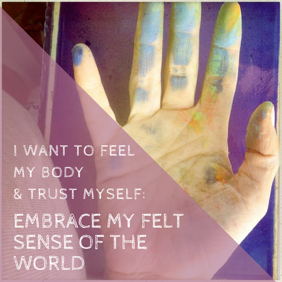 Reconnect with the wisdom of your body - find back home to yourself in the midst of it all.