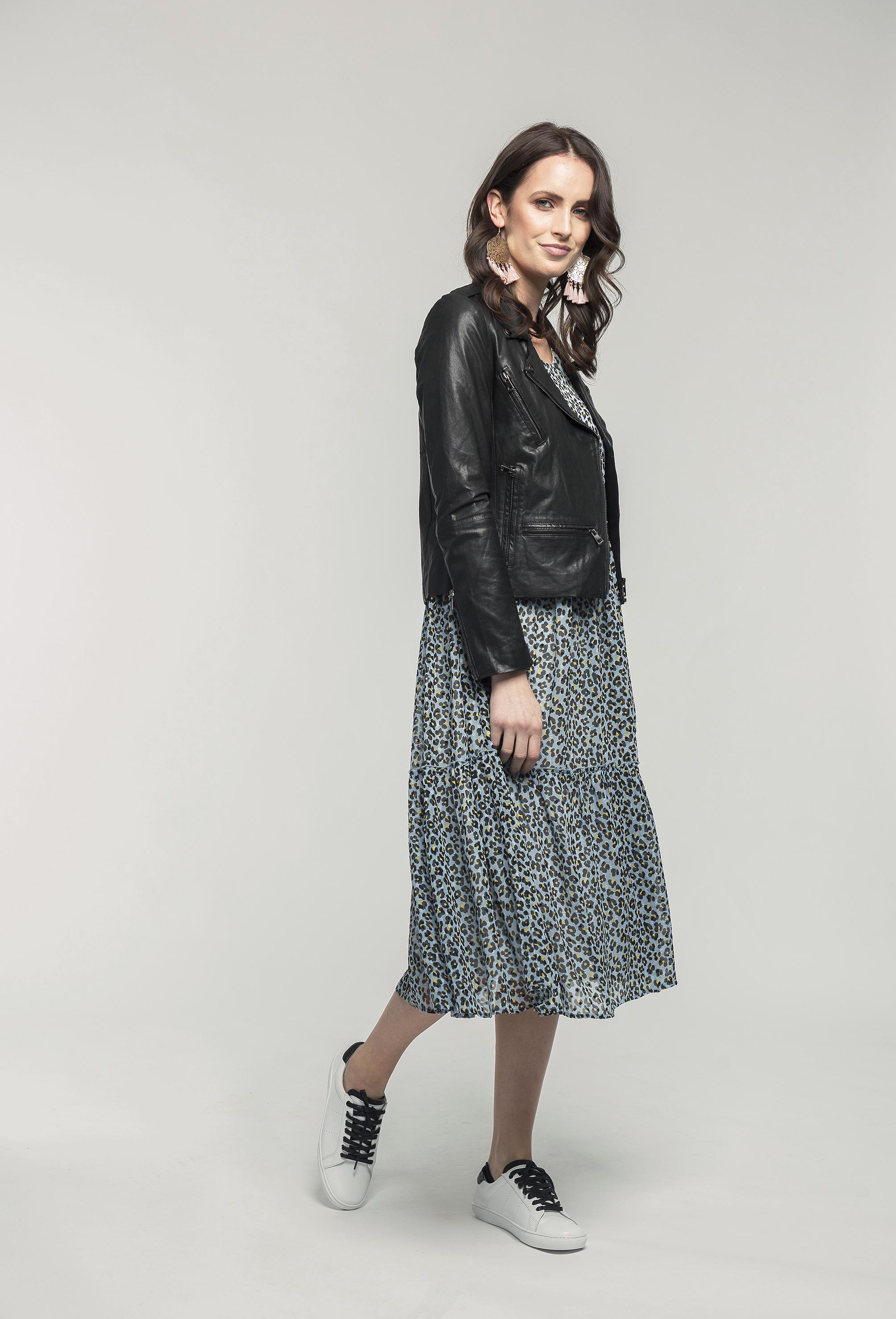 315 Leather Jacket - black & 259 Wendy Maxi - blue leo  (2).jpg