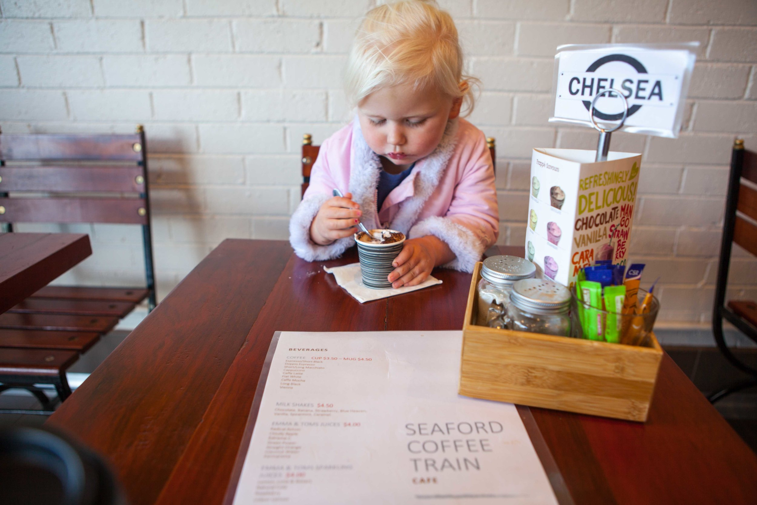 mamma knows south - coffee train seaford
