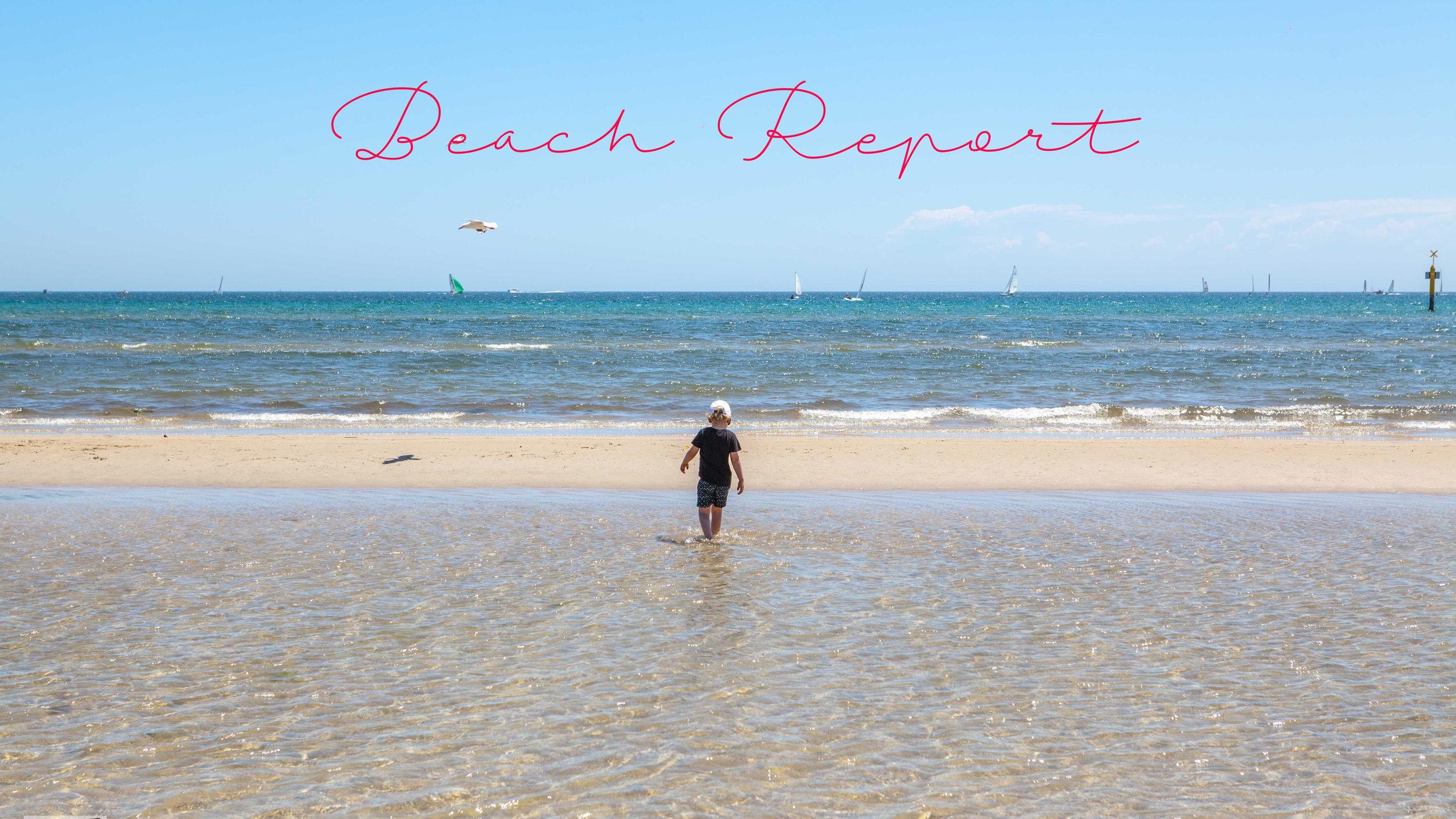 Mamma Knows South - Beach Report