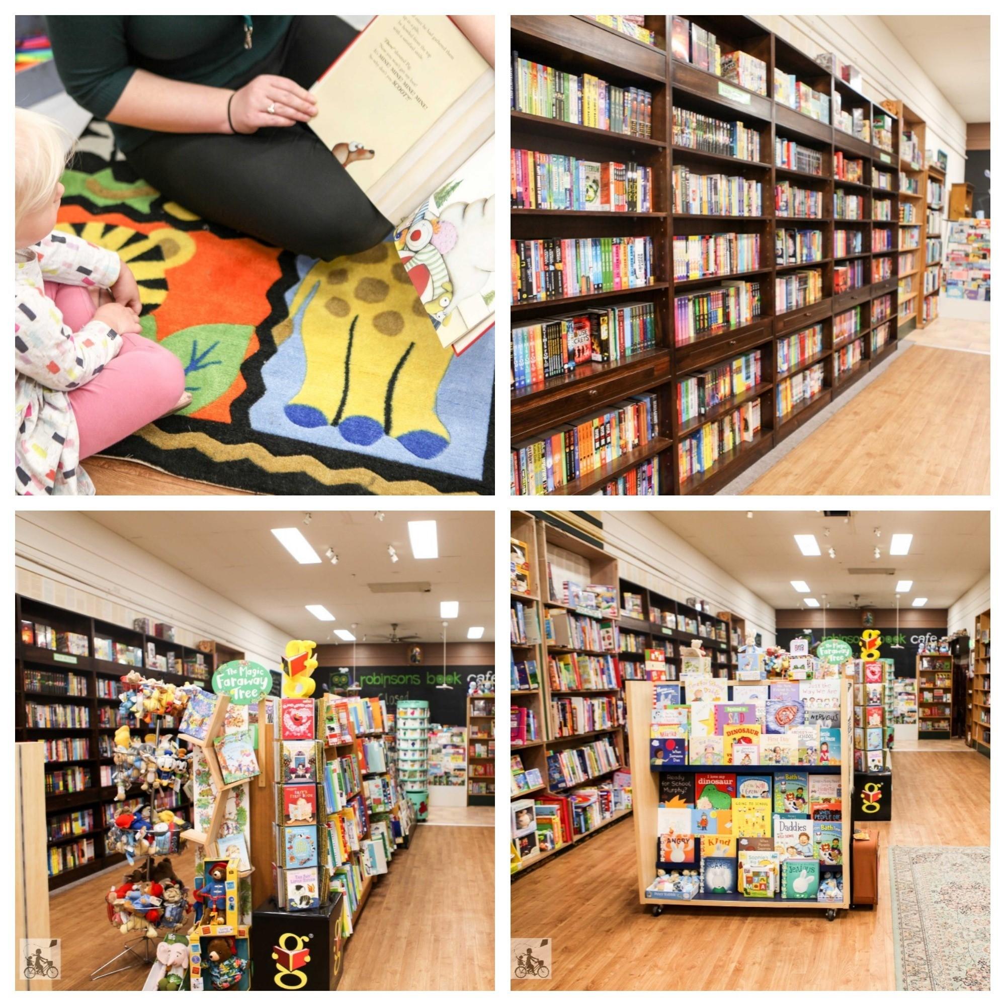 mamma knows south - story time @robinsons bookshop, frankston