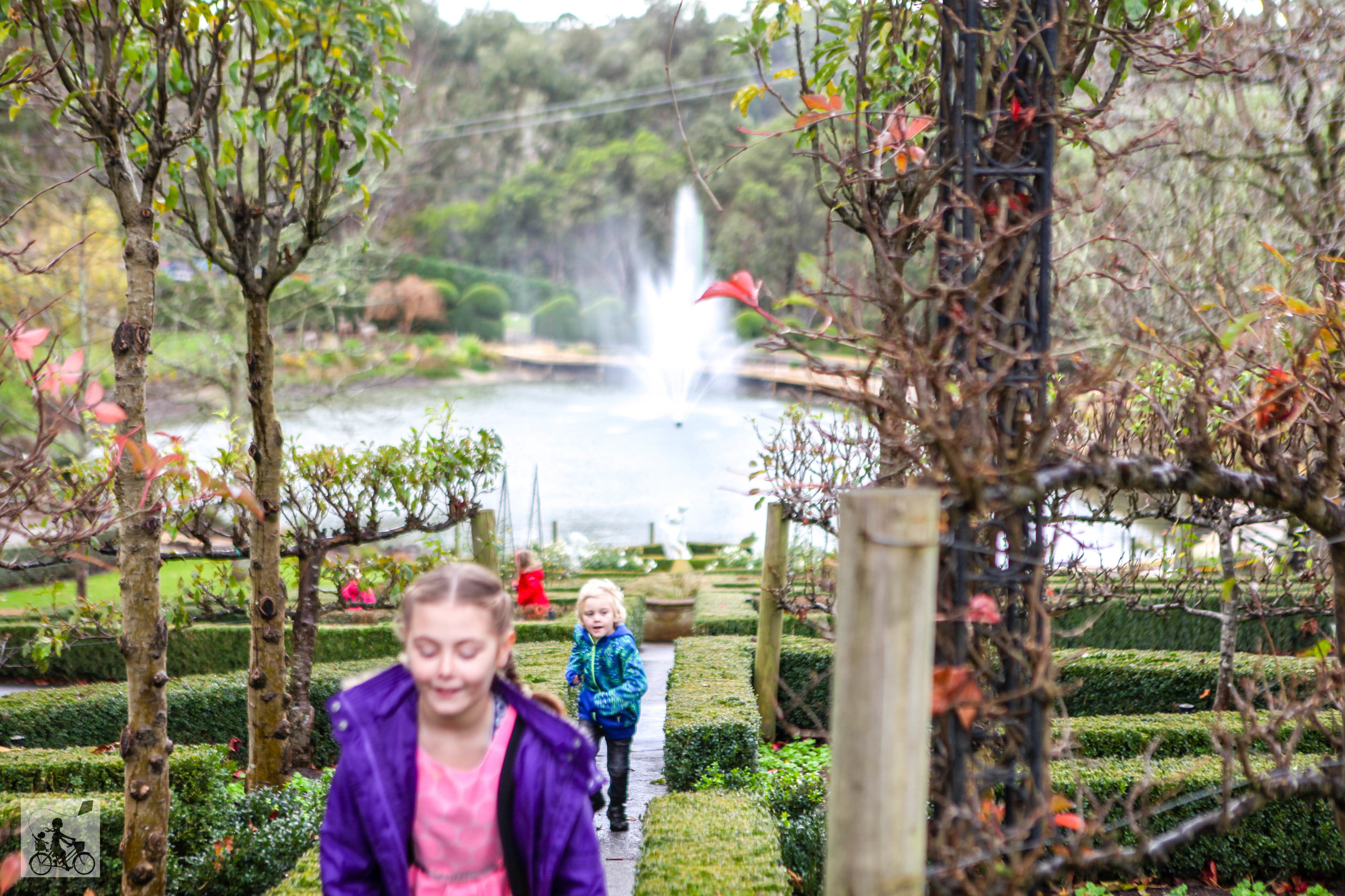 the enchanted adventure garden, arthurs seat - mamma knows south