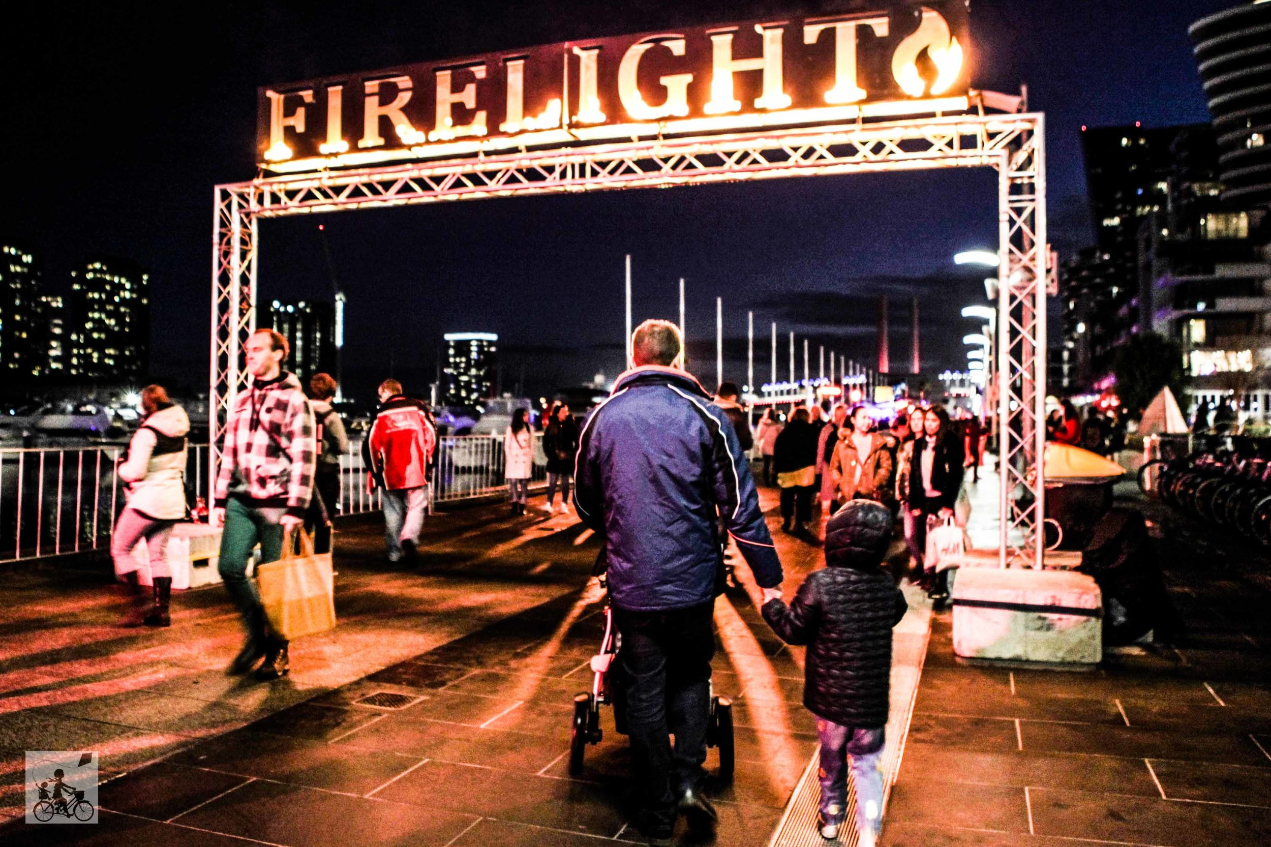 Firelight Festival @ Docklands