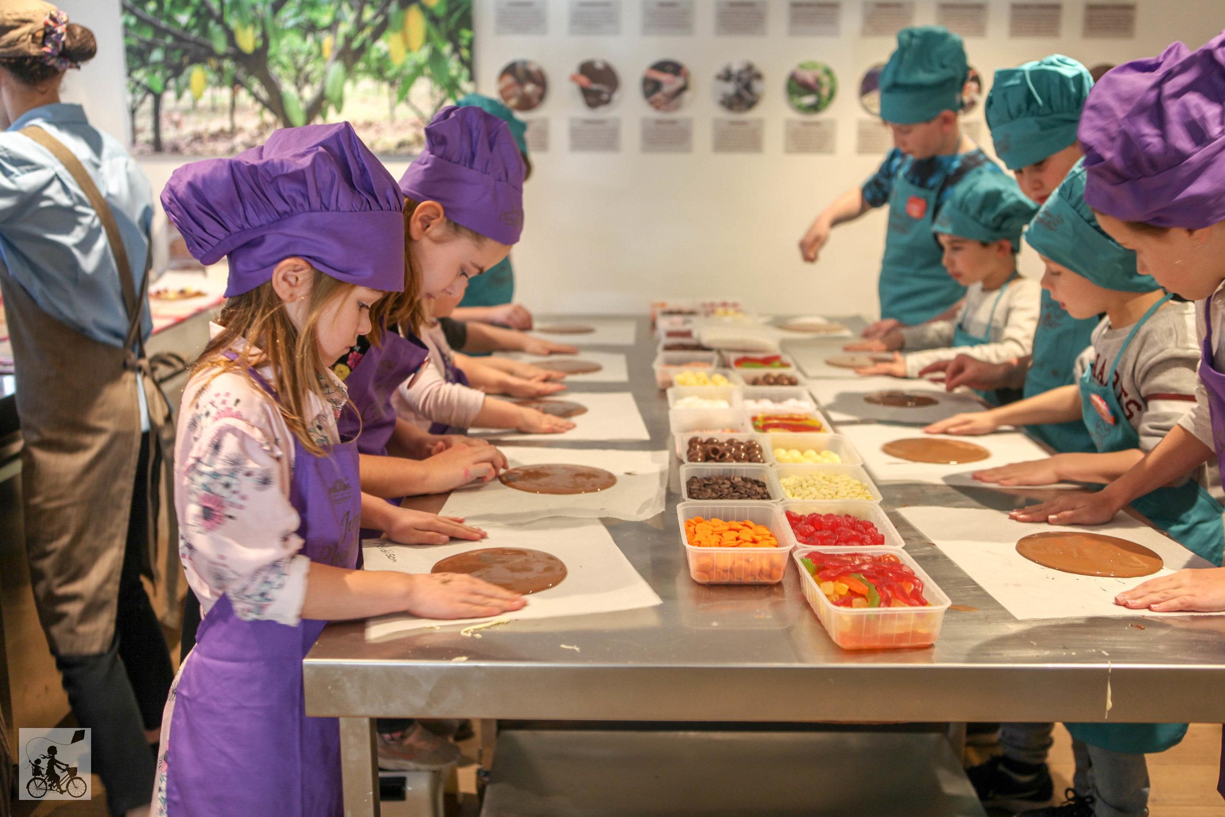 mamma knows south - junior chocolatier class @  mornington peninsula chocolaterie & ice creamery, flinders