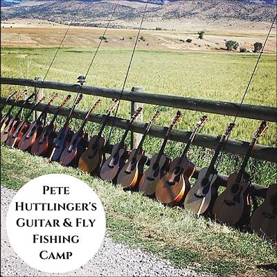 Pete Huttlinger's Guitar & Fly Fishing Camo