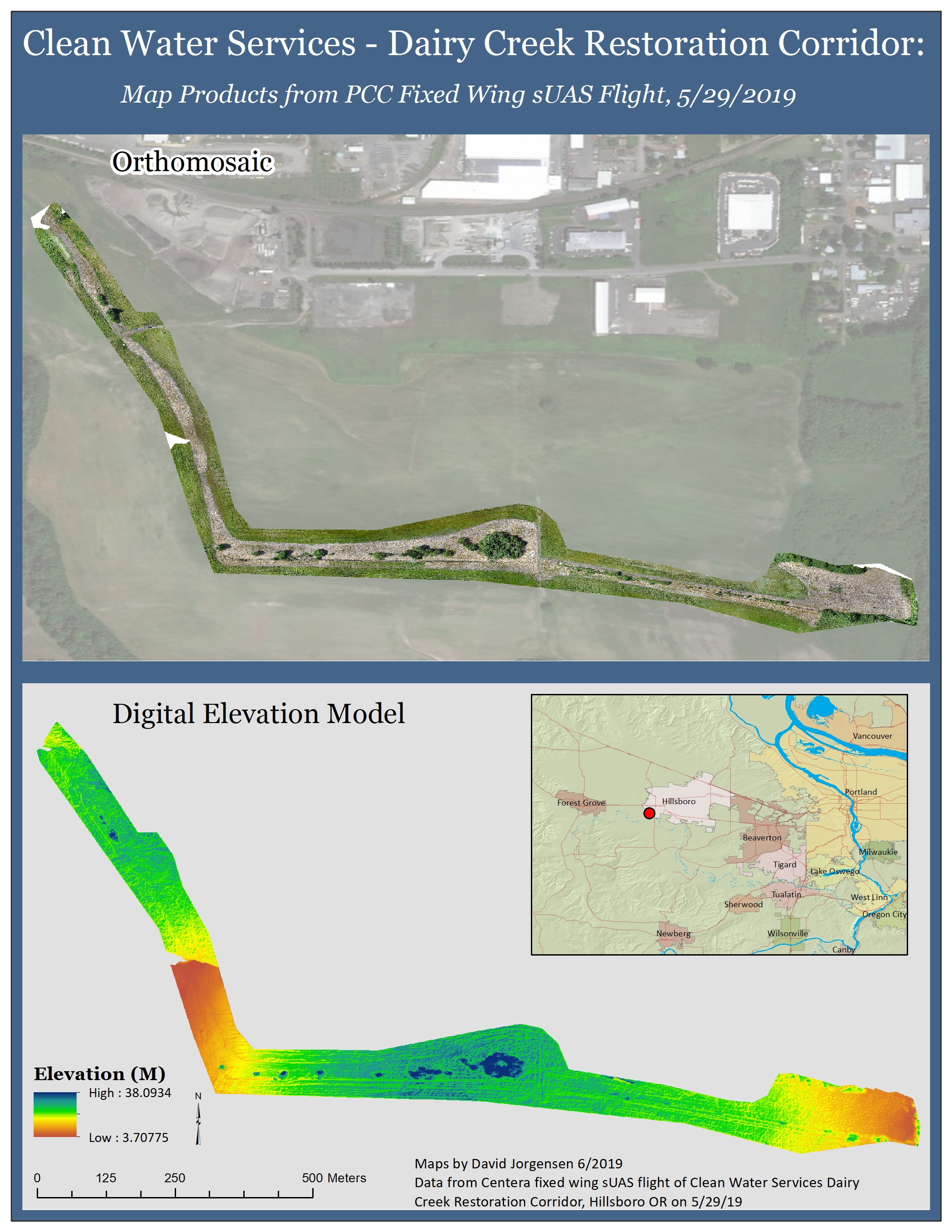 Drone Mapping of Dairy Creek Corridor