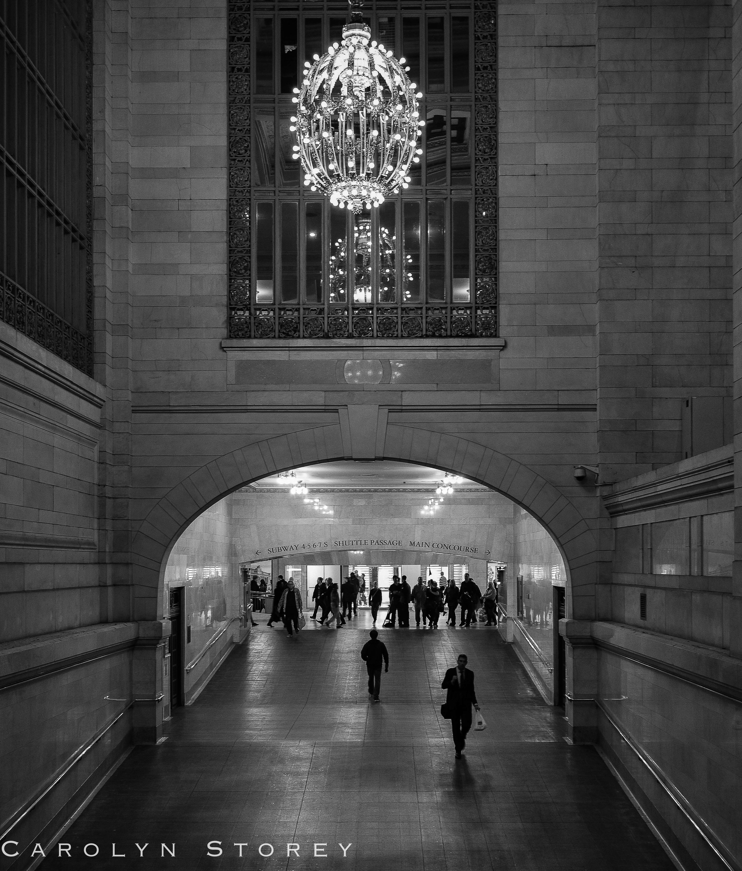 Grand Central Station is gorgeous with its marble, chandeliers and beautiful architecture. The best place to people watch too!
