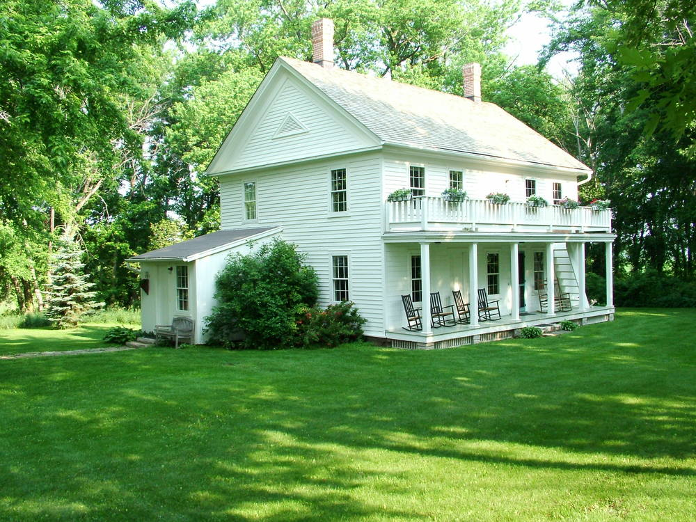 The Veblen Family Homestead, located in Nerstrand, MN